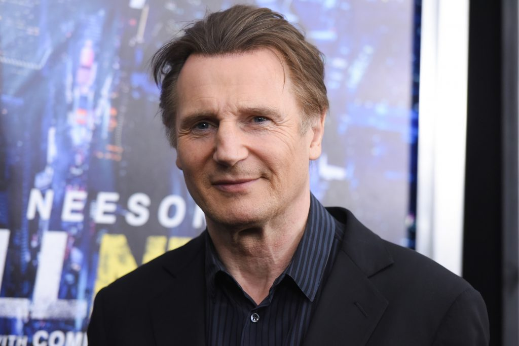 Liam Neeson. @AP