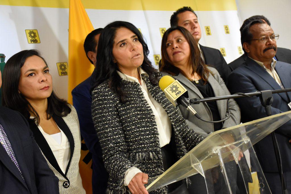 Antes del 5 de octubre debe designarse al sustituto de Alejandra Barrales. CUARTOSCURO.