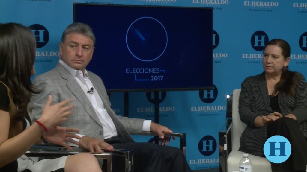 Emisión en directo de El Heraldo de Mexico, Elecciones 2017