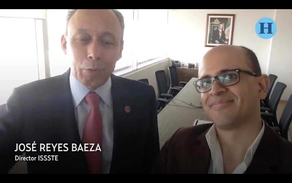 #SelfieLaEntrevista José Reyes Baeza, titular del ISSSTE