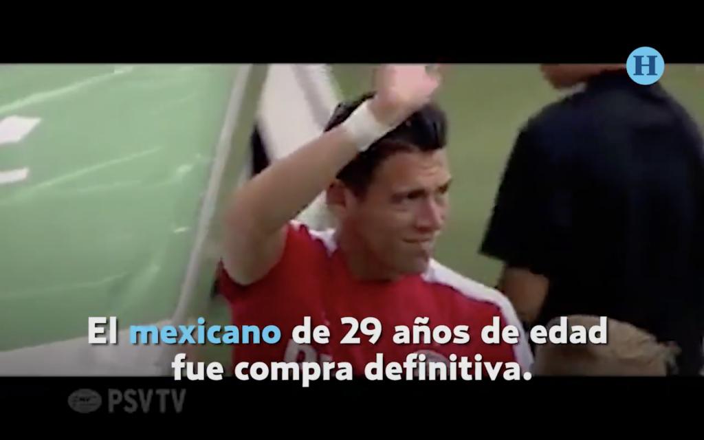 El video que el PSV le dedicó a Héctor Moreno