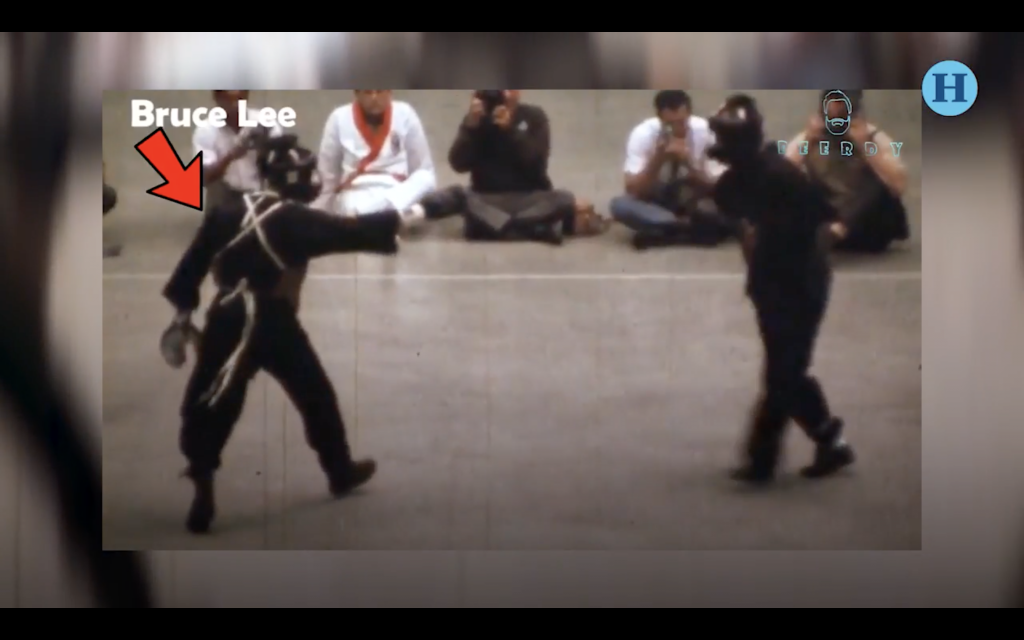 Esta es la única pelea real de Bruce Lee registrada en video