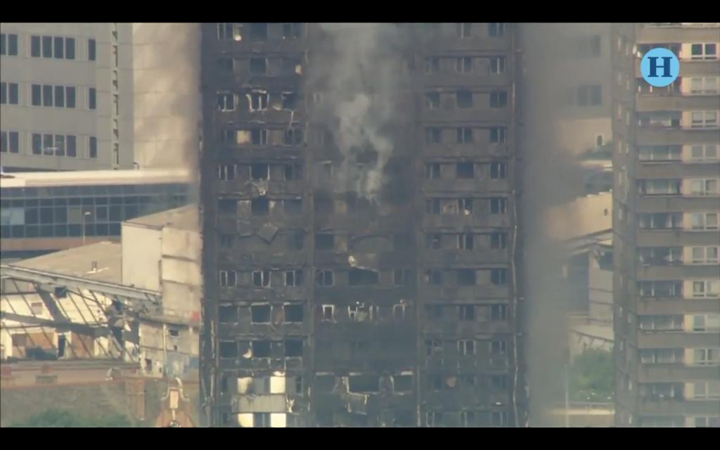 Testimonios de la tragedia del incendio de la Torre Grenfell en Londres