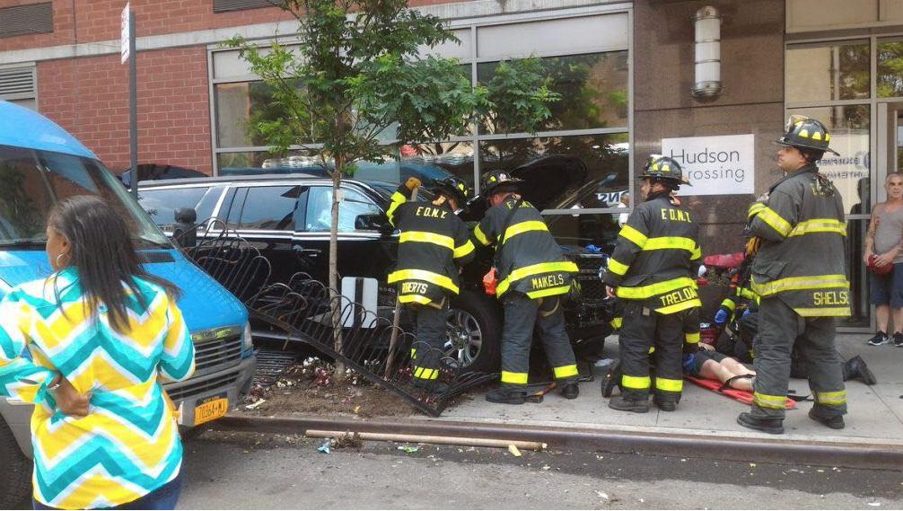Conductor atropella a más de diez personas en Nueva York