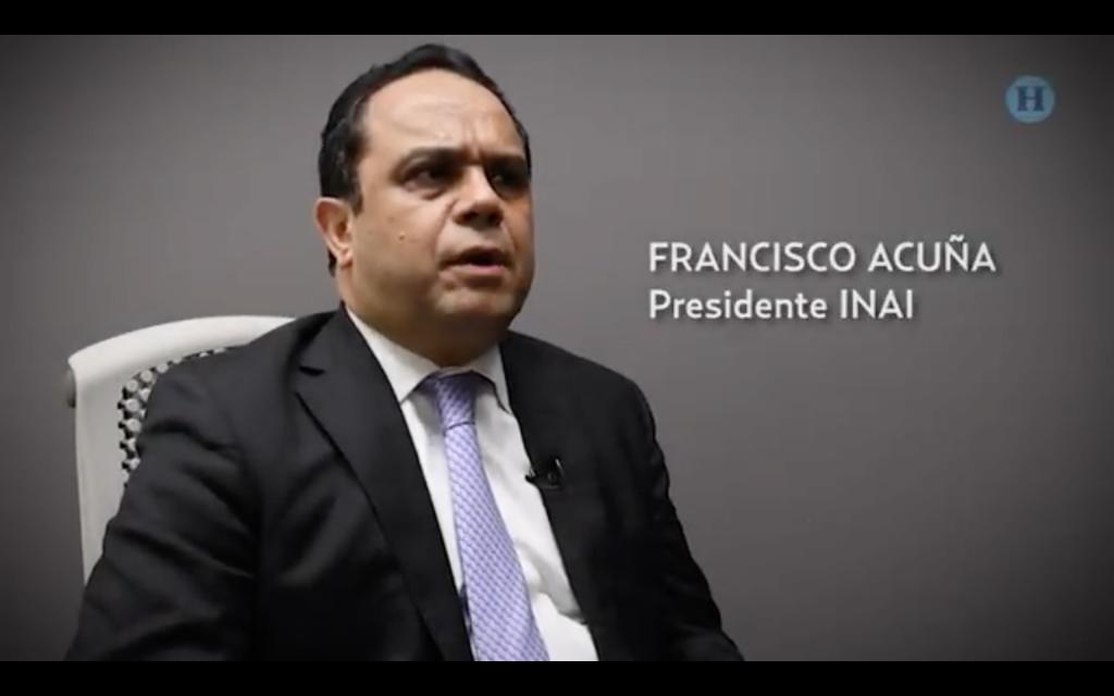 Conversamos con Francisco Acuña, presidente del INAI