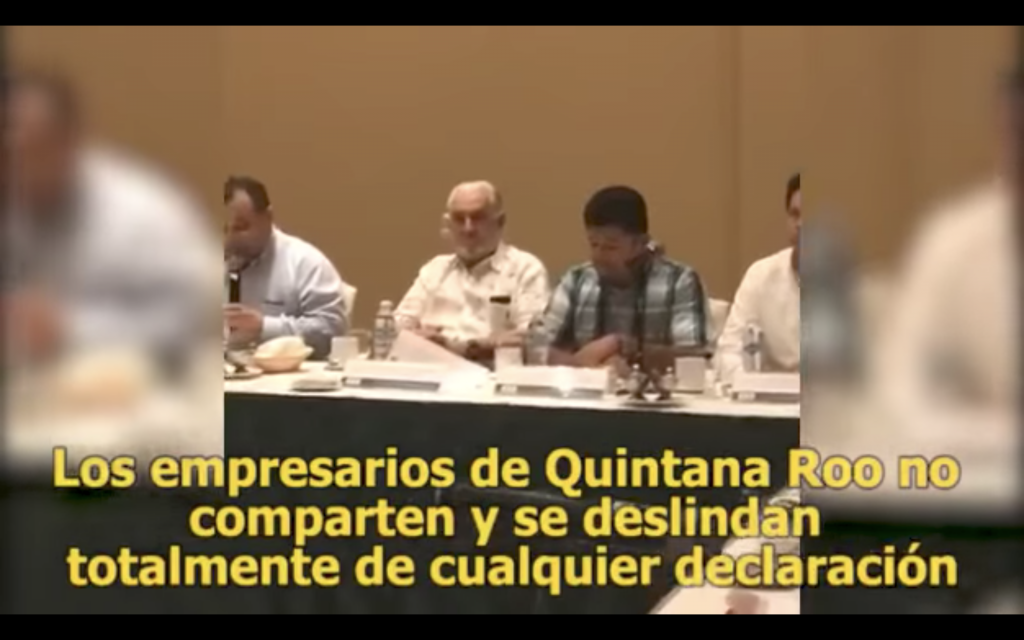 Empresarios se deslindan de grupo de autodefensa en Quintana Roo