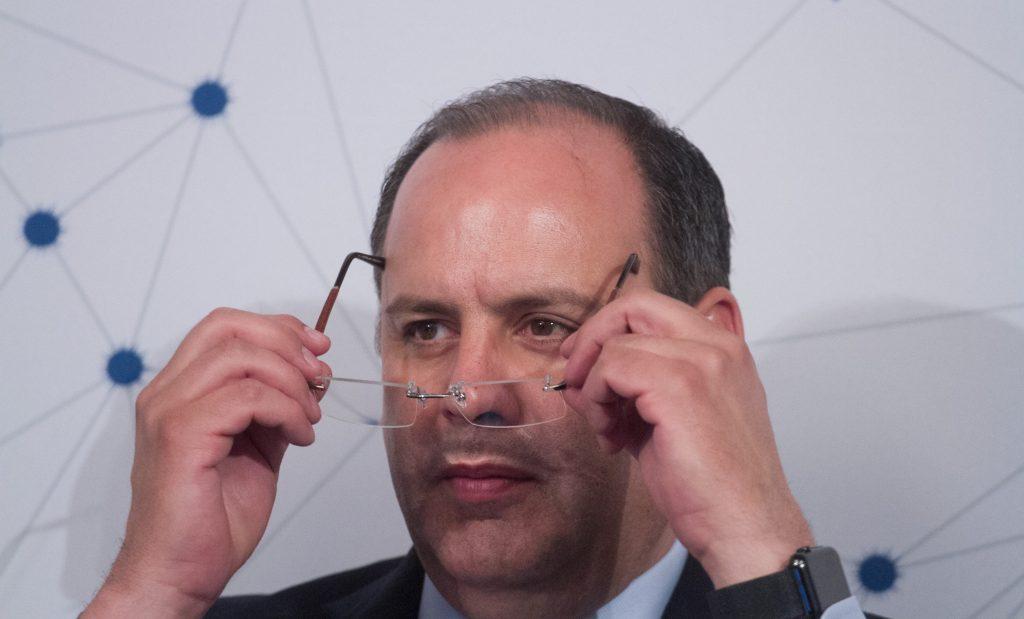 Gustavo de Hoyos Walther, presidente de la Coparmex, en imagen de archivo. FOTO: MOISÉS PABLO /CUARTOSCURO
