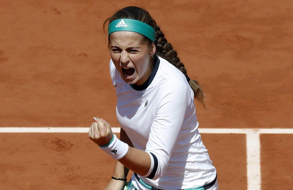 FOTO EFE. Ostapenko es la semifinalista más joven de Roland Garros en una década.