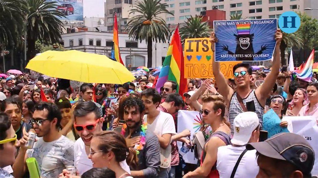 Marcha LGBTTTI 2017