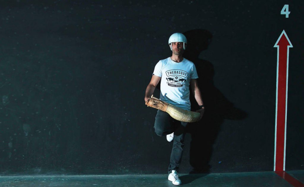 FOTO @EgigurenBi El vasco Mikel Egiguren destaca el prestigio de jugar en el Frontón México