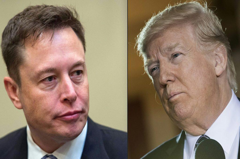 FOTO AFP. Musk ya había tenido diferencias de opinión con Trump