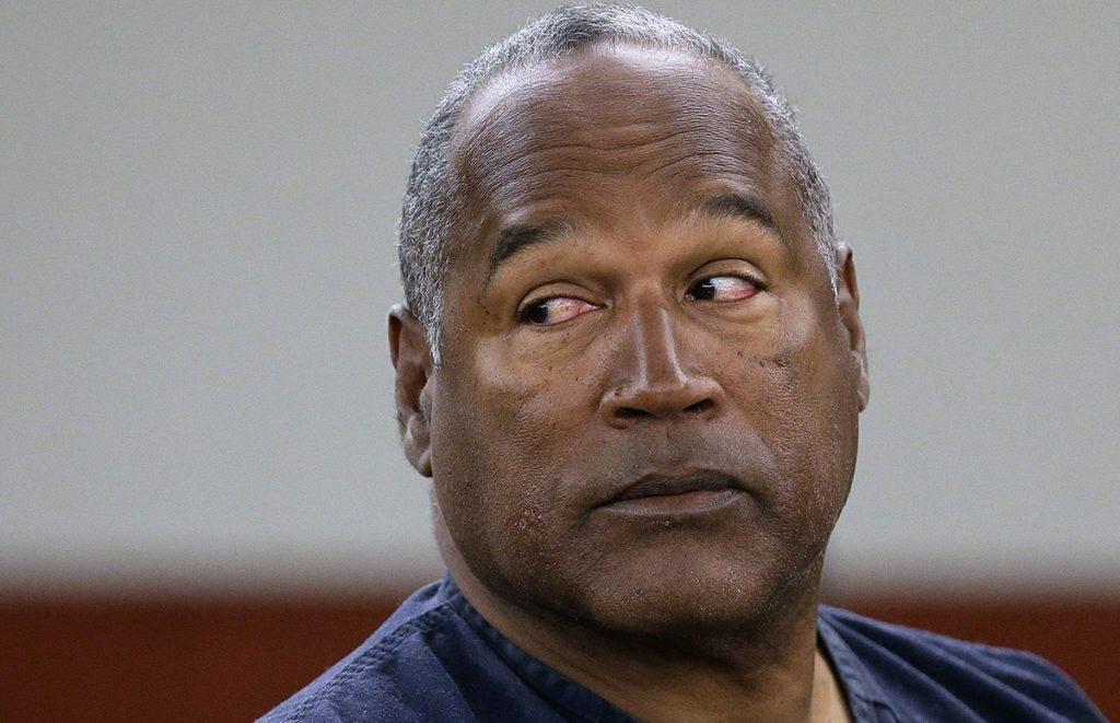 FOTO AP. Simpson lleva más de 8 años preso por robo a mano armada y secuestro.