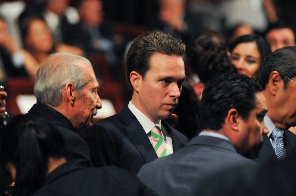 Manuel Velasco Coello, gobernador de Chiapas. @Cuartoscuro.com