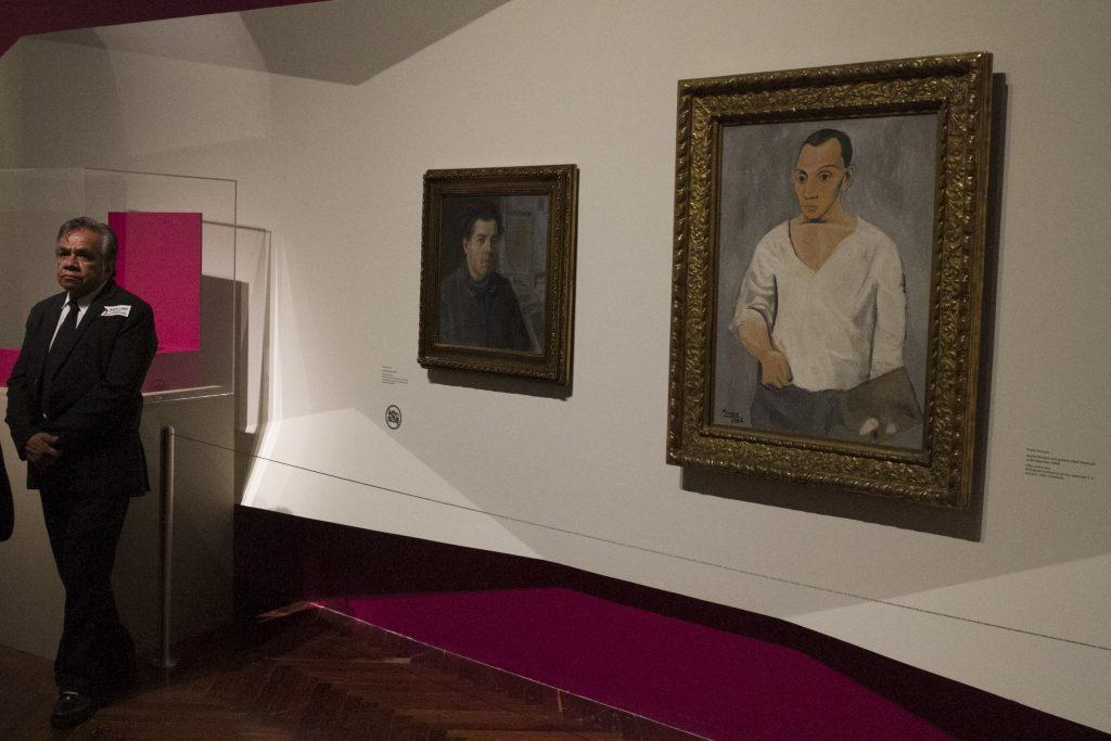 Exposición Picasso y Rivera: Conversaciones a través del tiempo. CUARTOSCURO.