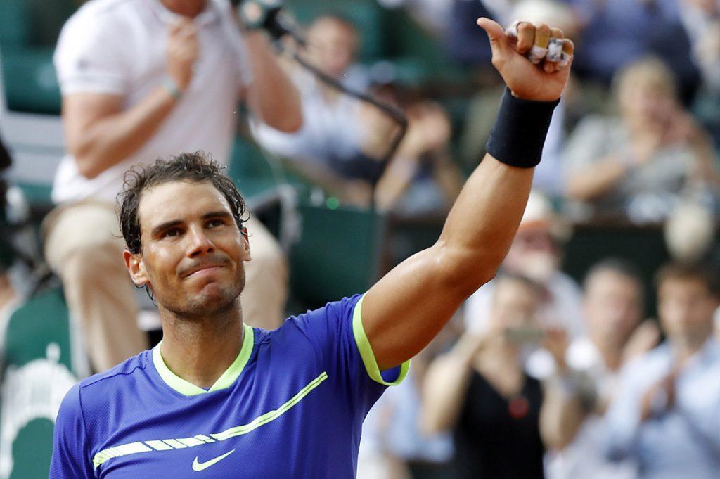 FOTO EFE. Nadal sólo perdió un juego en el segundo set.