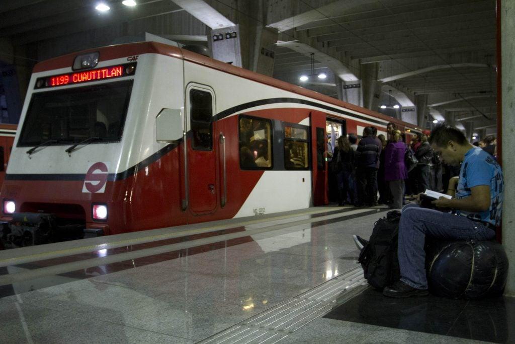 Tren Suburbano. FOTO CUARTOSCURO