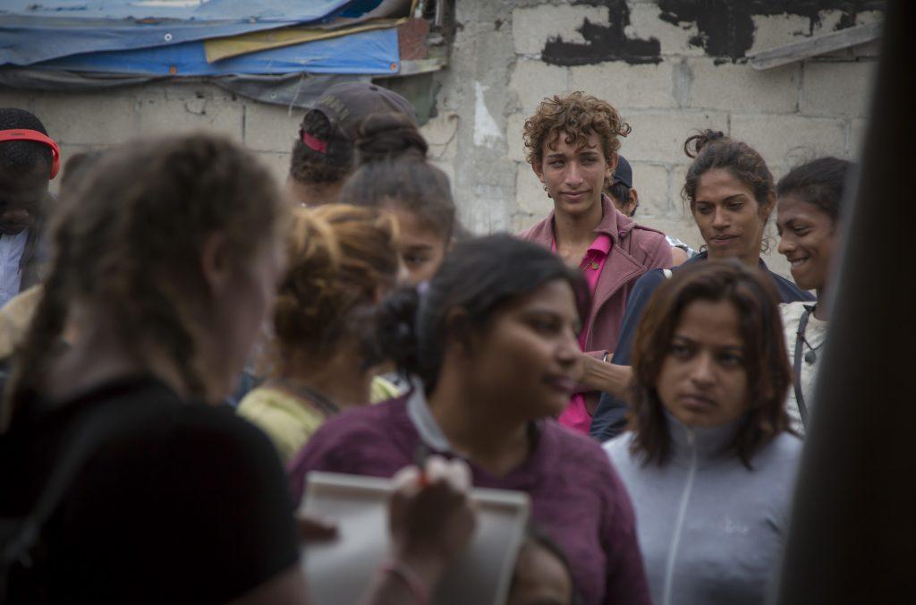 Migrantes de Centroamérica en Tijuana. CUARTOSCURO.
