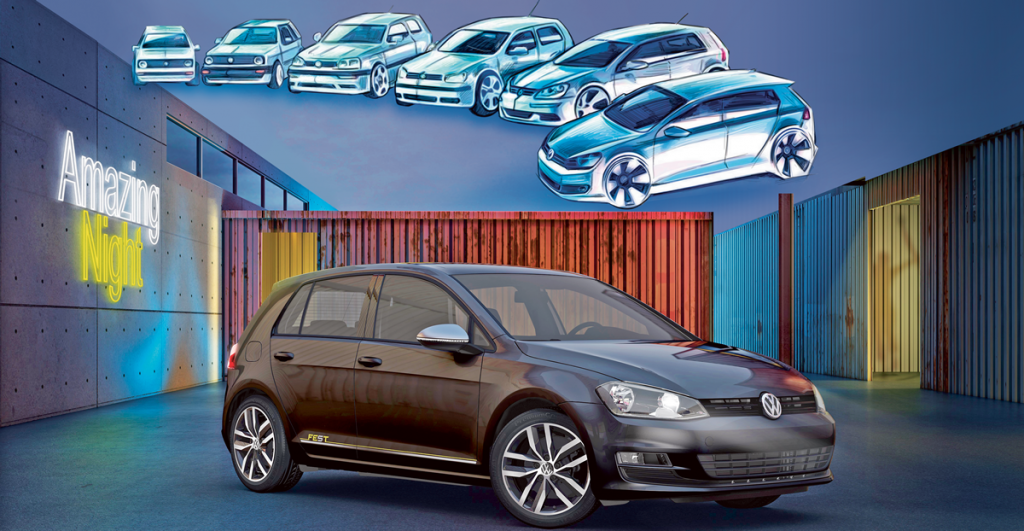 VW Golf sigue de fiesta con el nuevo Fest