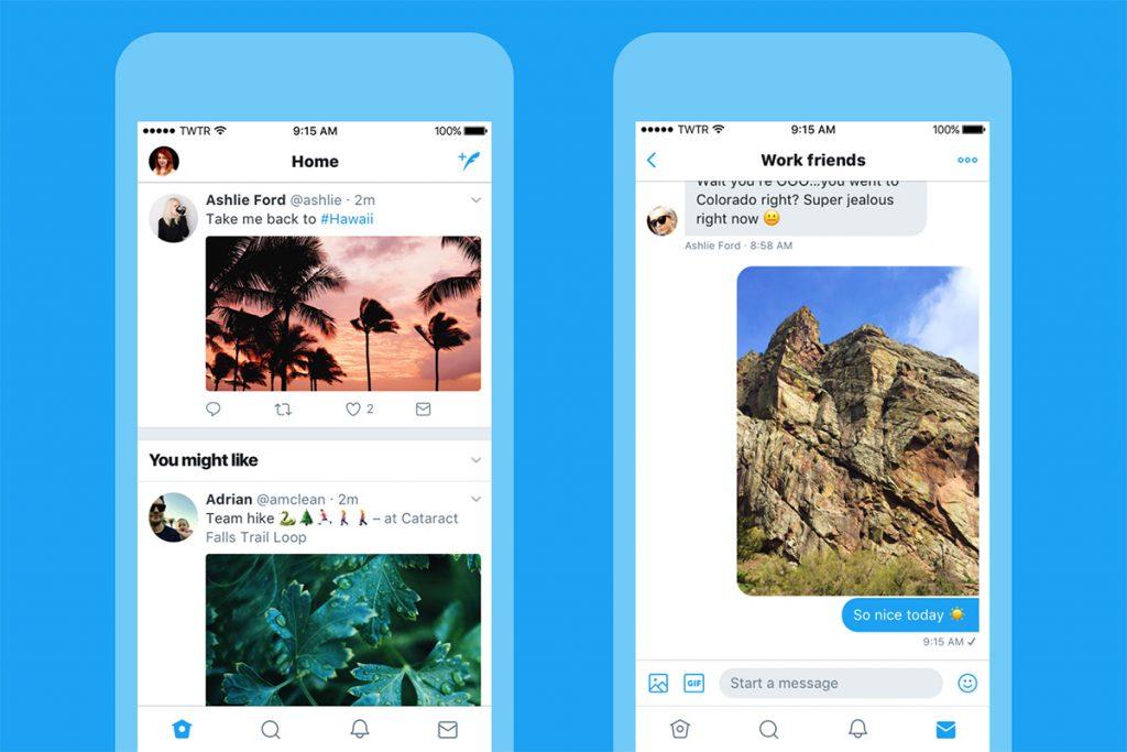 Twitter se rediseña para una experiencia mucho más limpia y rápida