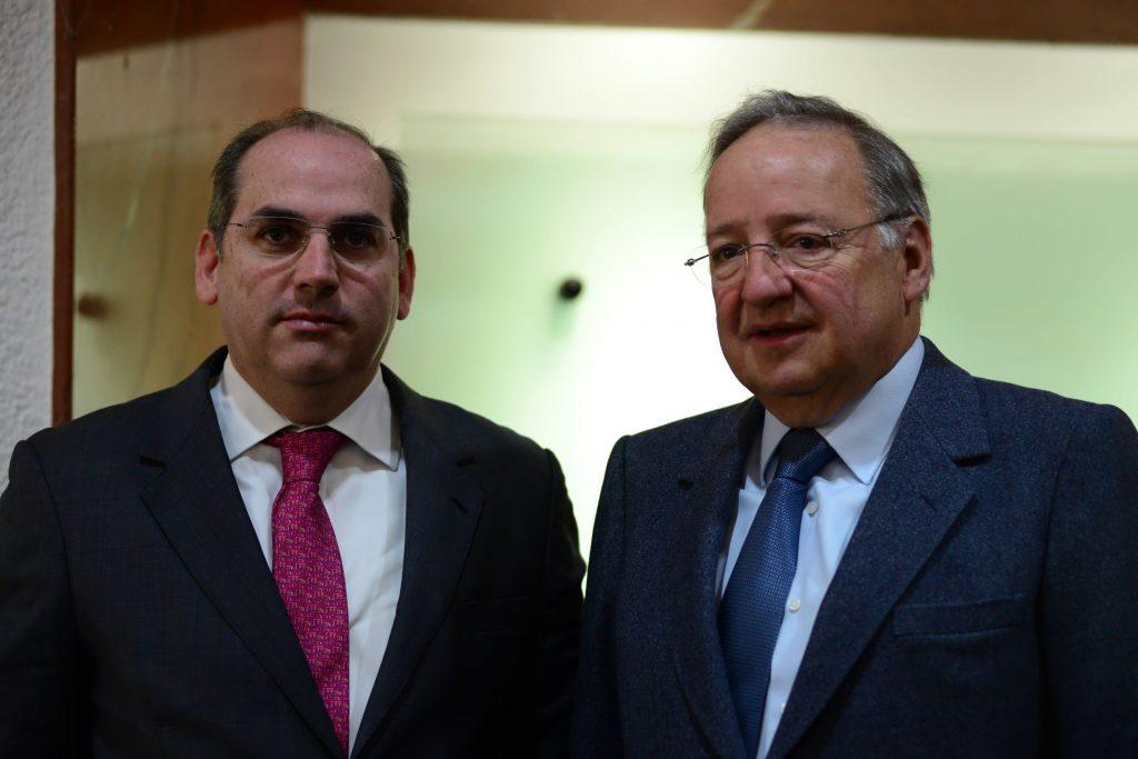 Roberto Ramírez de la Parra y Jesus Reyes Heroles @Cuartoscuro.com