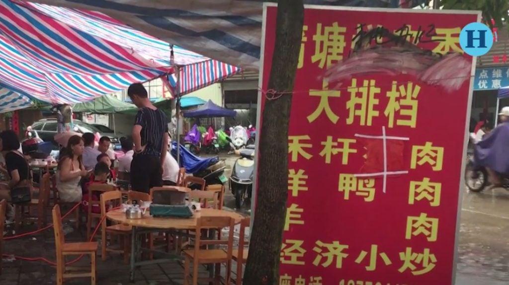 Pese a protestas, realizan festival de carne de perro en China