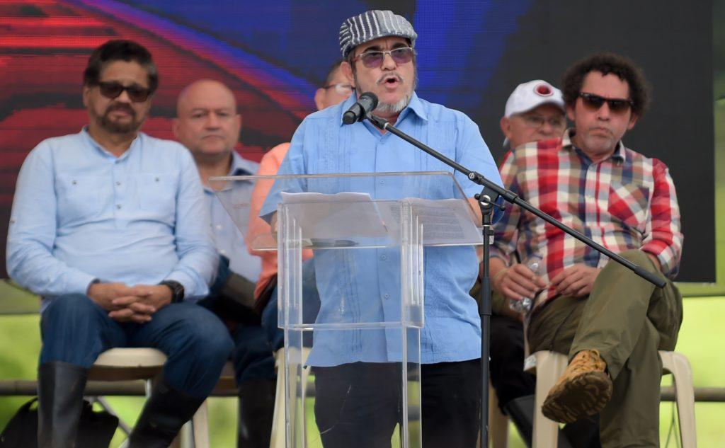 Rodrigo Londoño el pasado  martes 27 de junio. AFP.