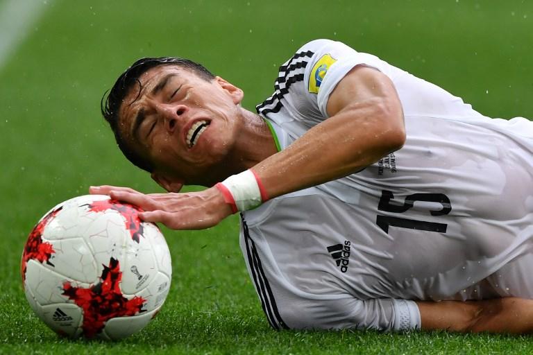 La Selección Mexicana de futbol no puede con los grandes