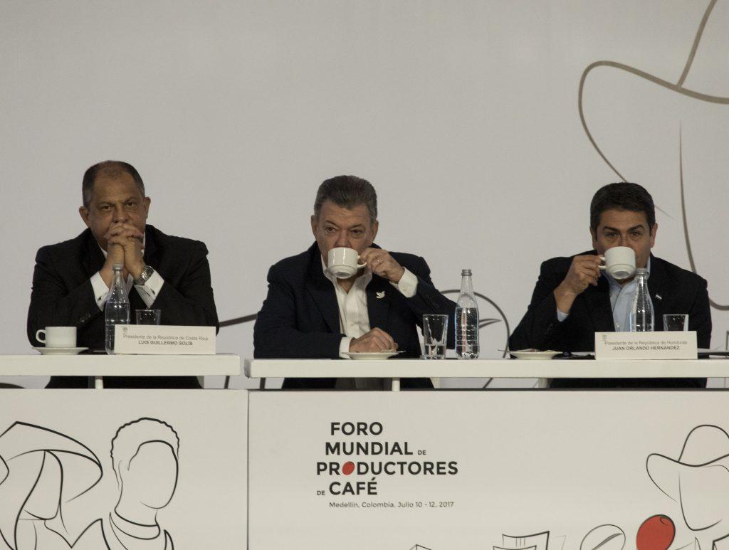 Foro Mundial de Productores de Café. Colombia, 11 de julio de 2017. @AFP