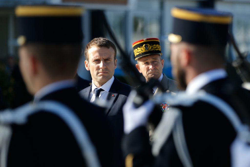 Emmanuel Macron. @AFP