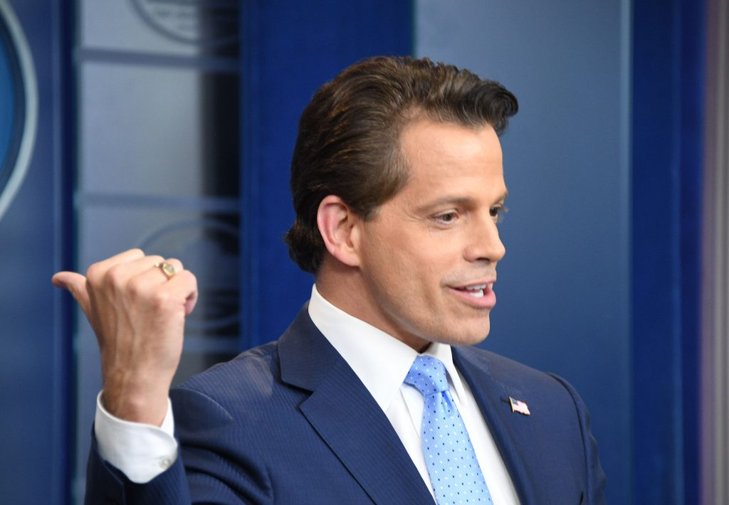 Anthony Scaramucci. AFP