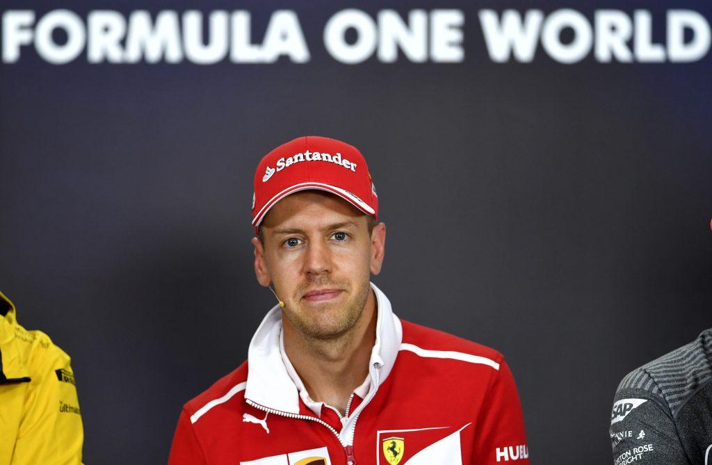 Sebastian Vettel. @AFP