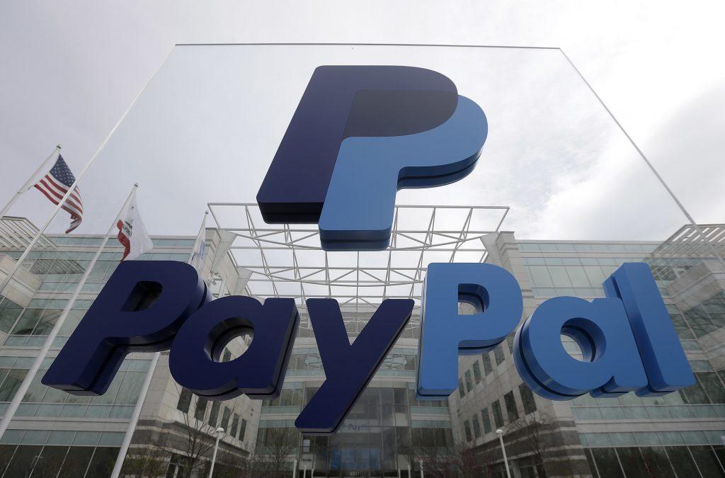 PayPal. @AP