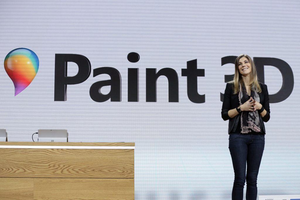 Megan Saunders, Paint 3D. @AP