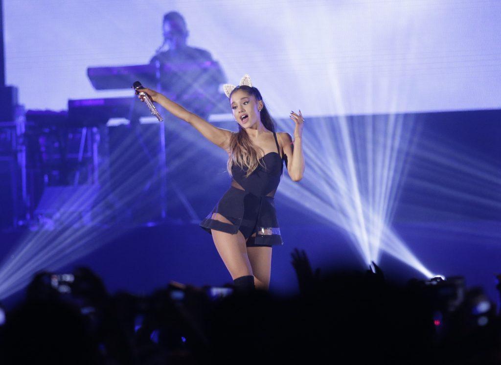 Ariana Grande. @AP