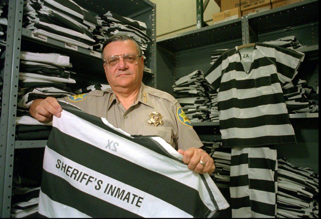 Imagen de archivo de 1997 del exsheriff de Arizona, Joe Arpaio. FOTO: AP/Scott Troyanos
