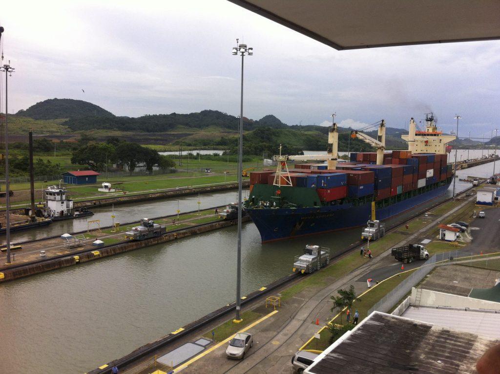 Canal de Panamá.  CUARTOSCURO.