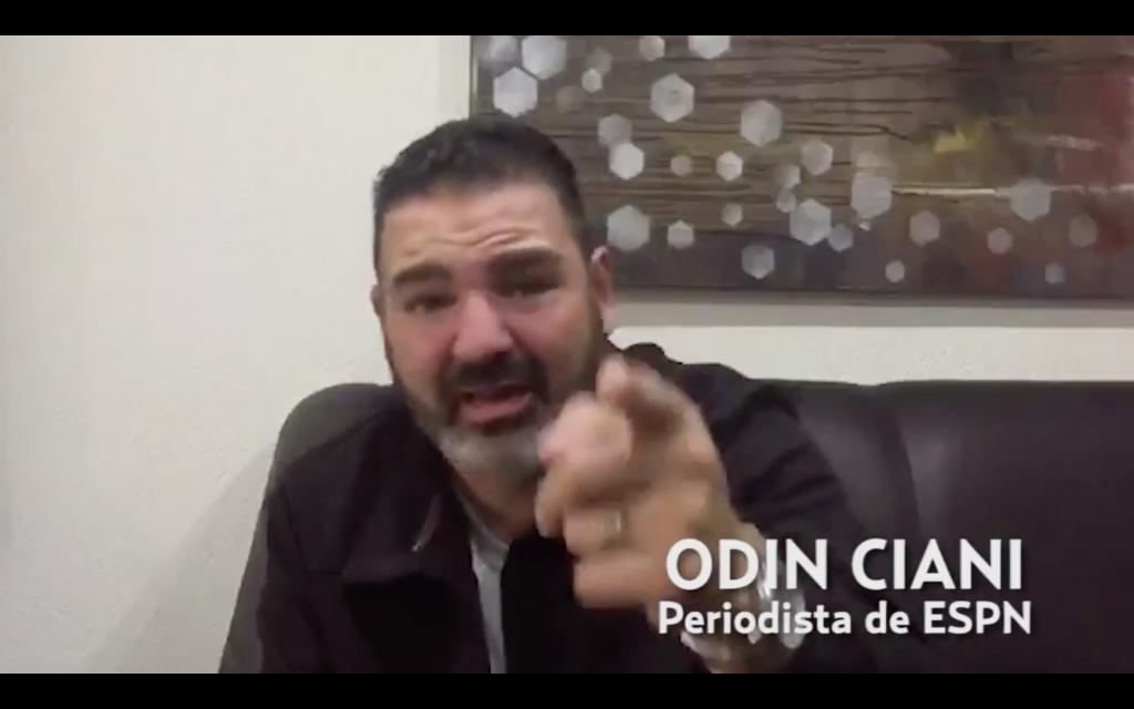 Odín Ciani, periodista de ESPN, denuncia asesinato de su hermana en Tijuana