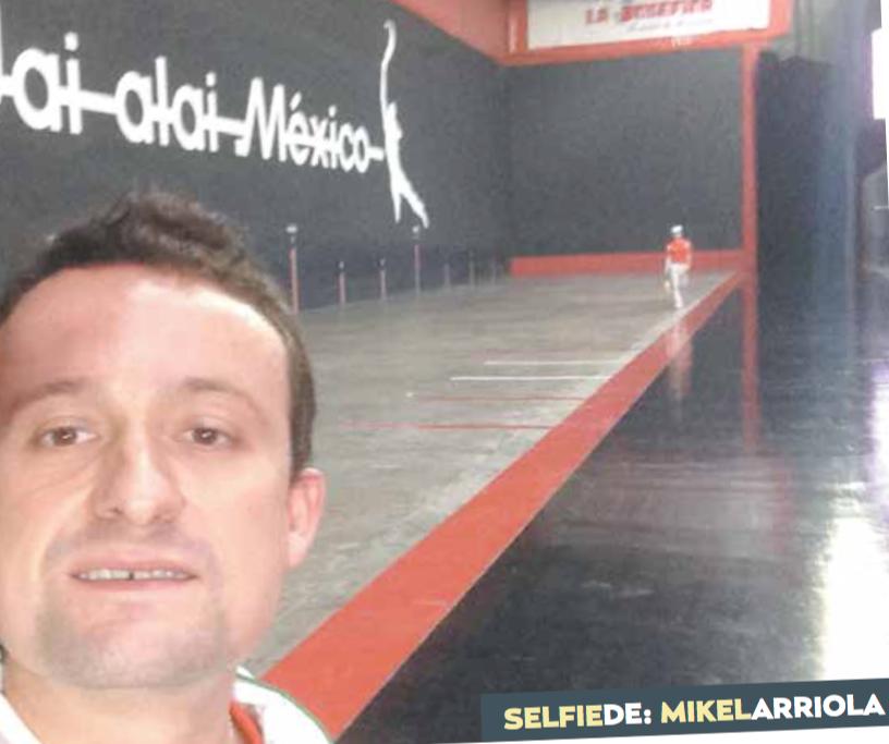 Selfie Mikel Arriola: enceste de confianzas