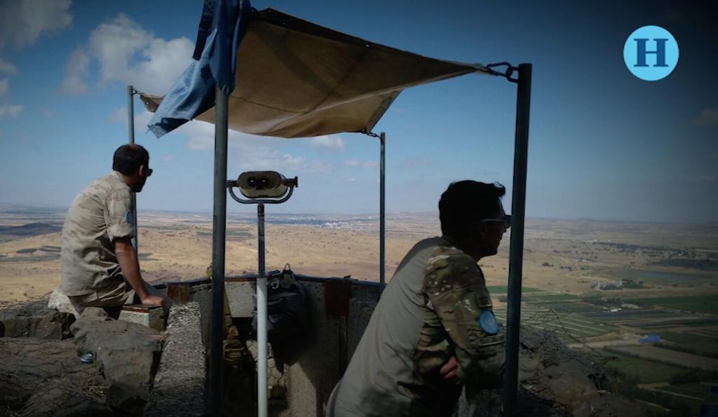 Muestran a turistas devastación en Medio Oriente