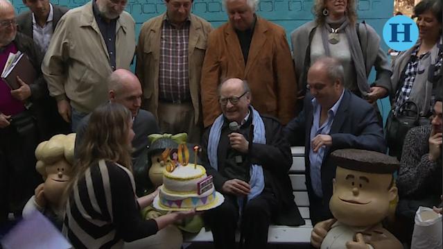 Quino, el creador de Mafalda, cumple 85 años