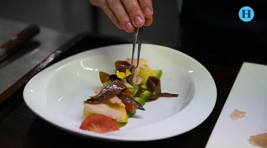 Ensalada de Bonito por el Chef Israel Aréchiga