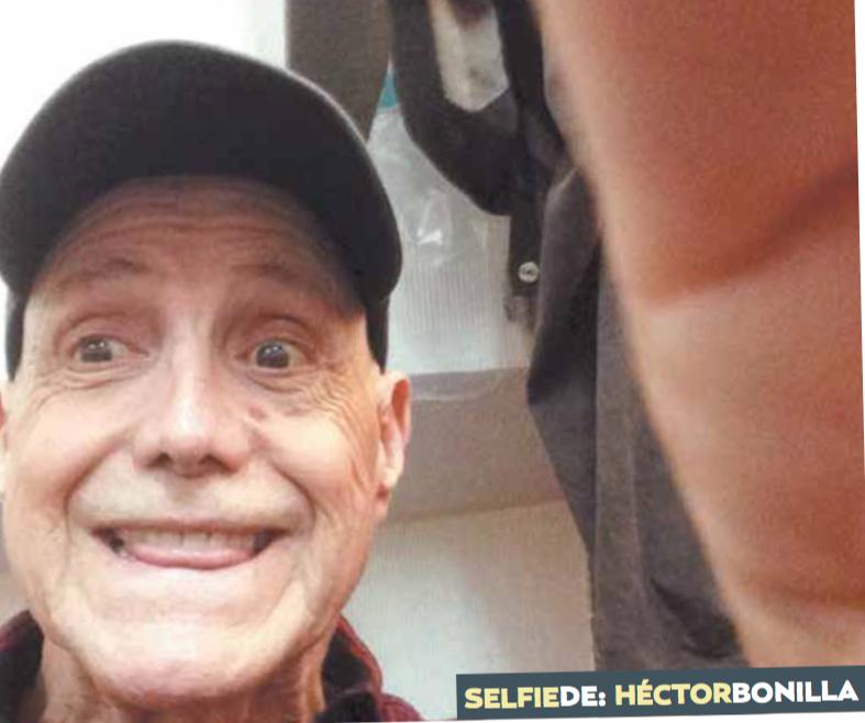 Selfie con Héctor Bonilla: Anunciador de congruencias