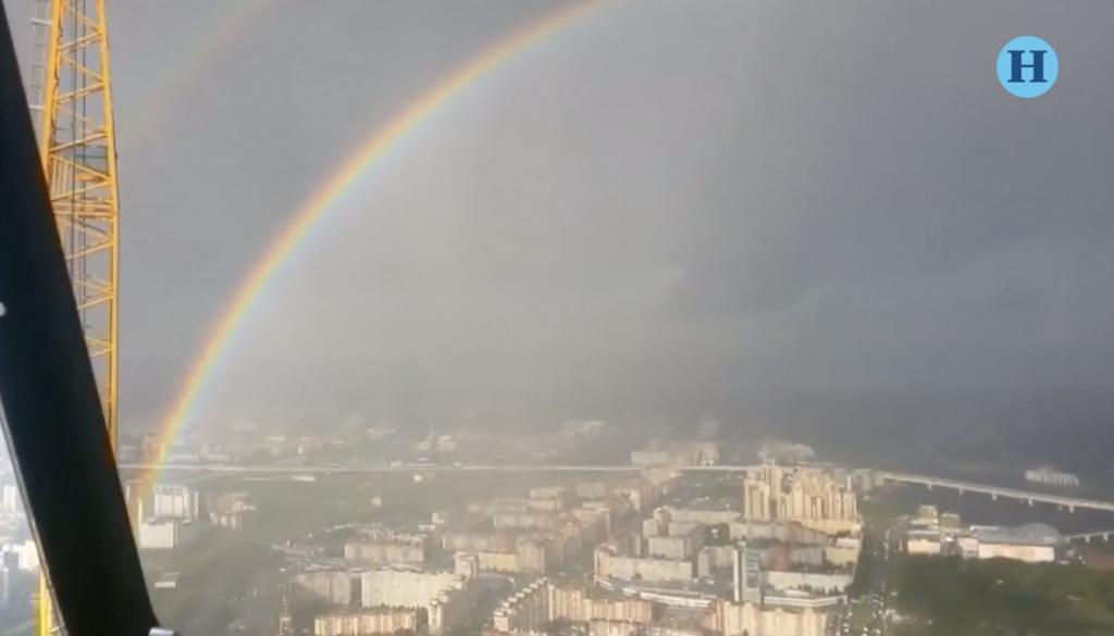 Los arcoíris son circulares y este video lo demuestra