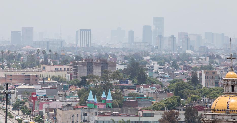 Mala calidad del aire en la CDMX. @Cuartoscuro.com