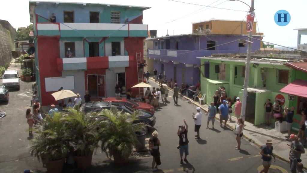 """""""La Perla"""", el barrio donde se grabó """"Despacito"""" es un foco turístico"""