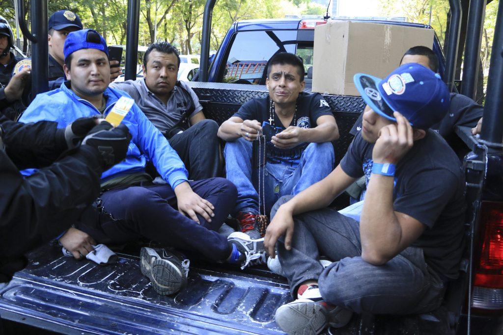 Elementos de la Secretaria de Seguridad Pública de la Ciudad de México. @Cuartoscuro.com
