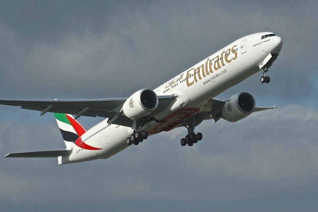 Emirates B777. @AP