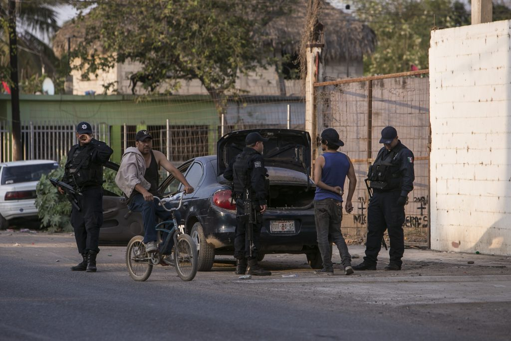 Operativo Policia Estatal en Sinaloa. @Cuartoscuro.com
