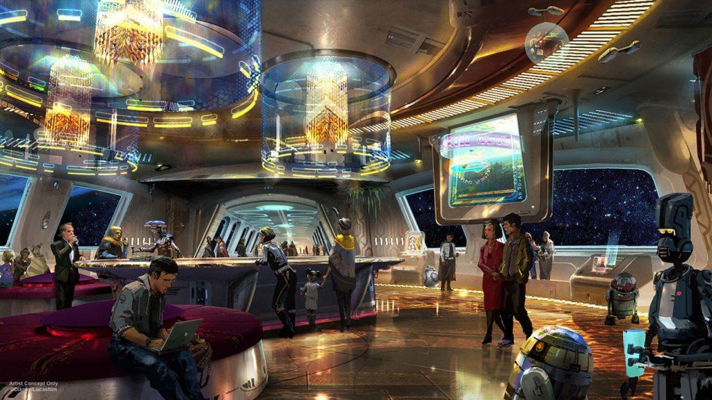 Star Wars abrirá las puertas de su hotel en Disneyland en 2019