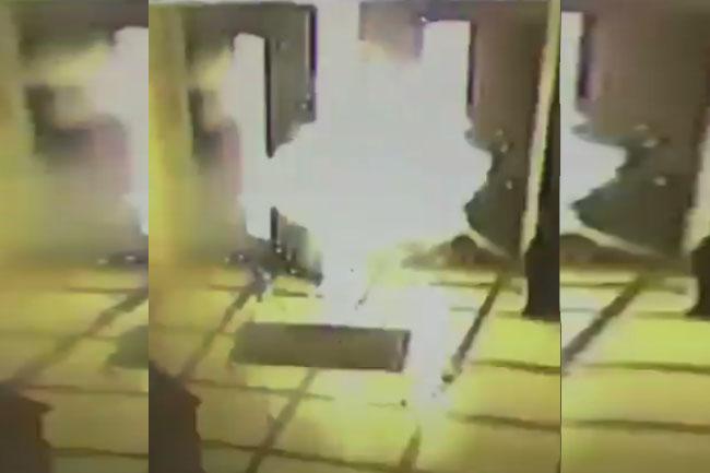 Explota bomba molotov en sede del Episcopado Mexicano
